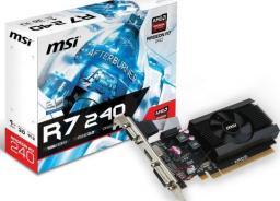 Karta graficzna MSI Radeon R7 240 2GD3 LP 2GB DDR3 (V809-2847R)