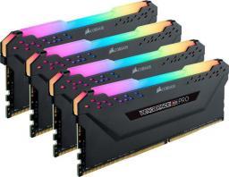 Pamięć Corsair Vengeance RGB PRO, DDR4, 64 GB,3600MHz, CL18 (CMW64GX4M4K3600C18)