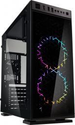 Obudowa Kolink   Inspire K1 RGB, szkło, czarny