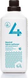 Płyn do płukania 4Corners Neutralny płyn do płukania tkanin z naturalnym olejem z konopi, 1L