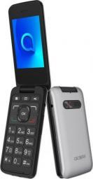 Telefon komórkowy Alcatel 30.26 srebrny (3026)