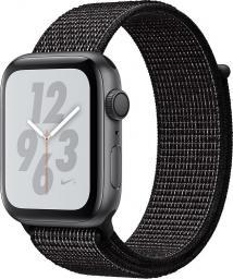 Smartwatch Apple Watch Nike+ Series 4 Czarny  (MU7J2WB/A)