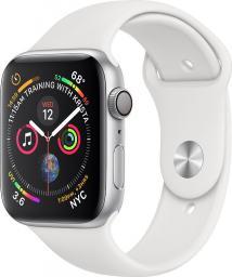 Smartwatch Apple Watch Series 4 Biały Srebrny  (MU6A2WB/A)