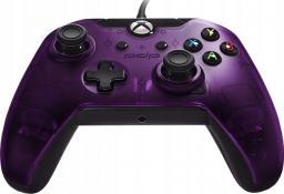 Gamepad PDP Xbox One przewodowy purple