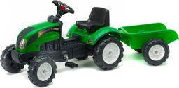Miniaturowy ciągnik z przyczepą Falk Farm FAL2052A zielony