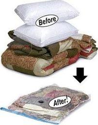 Vakuuminis maišelis drabužiams, įv. dydžių