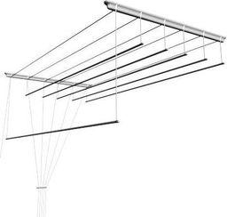 Suszarka na pranie ścienna 120cm (Suszarka sufitowa 6-PRĘTÓW SEPIO)