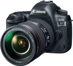 Lustrzanka Canon EOS 5D Mark IV + 24-105mm f/4L IS II USM