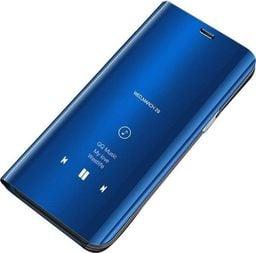 Hurtel Clear View Case futerał etui z klapką Samsung Galaxy J6 2018 J600 niebieski uniwersalny