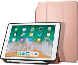Etui do tabletu Spigen Smart Fold 2 różowe iPad 9.7 2017/2018