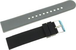 Tekla Silikonowy dwustronny pasek do zegarka 20 mm Tekla SK6.20 uniwersalny
