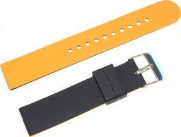 Tekla Silikonowy dwustronny pasek do zegarka 20 mm Tekla SK2.20 uniwersalny