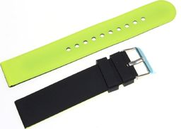 Tekla Silikonowy dwustronny pasek do zegarka 20 mm Tekla SK1.20 uniwersalny