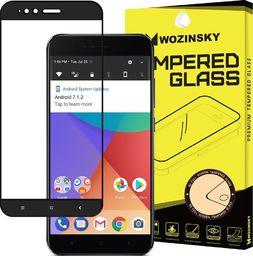 Wozinsky Wozinsky super wytrzymałe szkło hartowane Full Glue na cały ekran z ramką Case Friendly Xiaomi Mi A1 / Mi 5X czarny uniwersalny