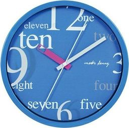 Perfect Zegar ścienny Perfect 9168 Blue 25 cm