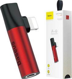 Adapter USB Baseus Czerwony (BRA007006)