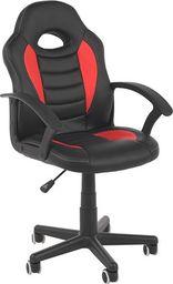 IMAGGIO Fotel biurowy GT SPORT czarno - czerwony universal