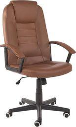 IMAGGIO Fotel biurowy GIOVANI brązowy+ gratis ! universal
