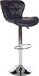 IMAGGIO Hoker do kuchni LUSI, Krzesło barowe w kolorze czarnym universal