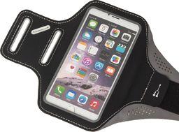Hurtel Armband do biegania opaska na ramię Samsung iPhone LG HTC Huawei L 5.5 cala czarny uniwersalny