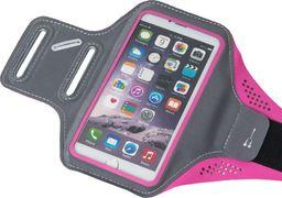 Hurtel Armband do biegania opaska na ramię Samsung iPhone LG HTC Huawei L 5.5 cala różowy uniwersalny