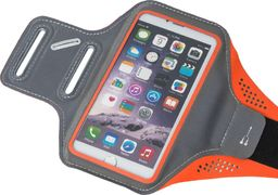 """Hurtel opaska na ramię Samsung iPhone LG HTC Huawei L 5.5"""" pomarańczowy uniwersalny"""