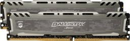 Pamięć Ballistix Ballistix Sport LT, DDR4, 16 GB,3000MHz, CL15 (BLS2K8G4D30AESBK)
