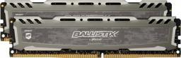 Pamięć Ballistix Ballistix Sport LT, DDR4, 32 GB,3000MHz, CL15 (BLS2K16G4D30AESB)