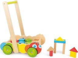 Small Foot Wózek chodzik Gąsienica z klockami  - zabawka dla dzieci uniw