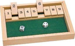 Goki Gra planszowa dla dzieci - Zamknij pudełko, Cyferkowe Zgadywanki Nauka Liczenia uniw