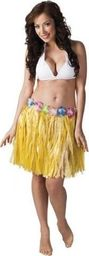 Aster Spódnica hawajska 45 cm żółta uniw