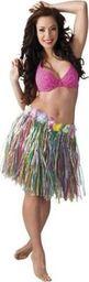 Aster Spódnica hawajska multikolor 45 cm uniw