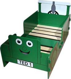 Kidsaw Łóżko  dla dzieci Traktor Ted  uniw