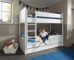 Vipack Łóżko  Robin piętrowe - łóżko dla dziecka uniw