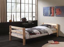 Vipack Drewniane łóżko dla dziecka Pino - sosna naturalna, pojedyncze uniw