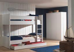 Vipack Łóżko  LARA  piętrowe - łóżko dla dziecka uniw