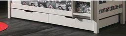 Vipack Drewniane szuflady pod łóżko Pino - sosna biała uniw