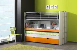 Vipack Łóżko piętrowe dla dzieci Bonny Orange uniw