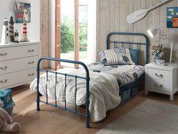 Vipack Metalowe łóżko New York NYBE9007 dla dziecka 96x212 cm uniw