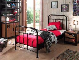 Vipack Metalowe łóżko New York NYBE9018 dla dziecka 96x212 cm uniw