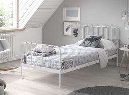 Vipack Metalowe łóżko dla dziecka Alice Old White uniw
