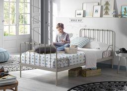Vipack Metalowe łóżko dla dziecka Alice Elefantgrey  uniw