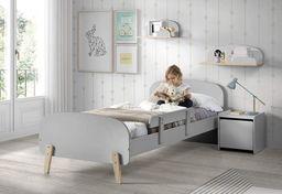 Vipack Łóżko dla dziecka Kiddy Grey uniw