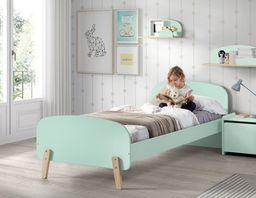 Vipack Pastelowe łóżko dla dziecka Kiddy Mint uniw