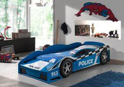 Vipack Łóżko AUTO samochód WÓZ POLICYJNY dla chłopca 70x140cm uniw