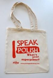 Prolog Torba 'I speak Polish'