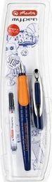 Herlitz Pióro wieczne My.Pen niebieski/pomarańcz