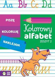 Zielona Sowa Kolorowy alfabet. Zeszyt 2