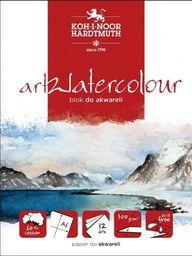 Blok biurowy Koh-I-Noor Blok akwarelowy artwatercolour A4 12 kartek