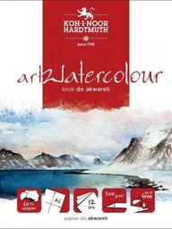 Blok biurowy Koh-I-Noor Blok akwarelowy artwatercolour A5 12 kartek 300G.